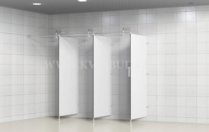 HPL shower partitions