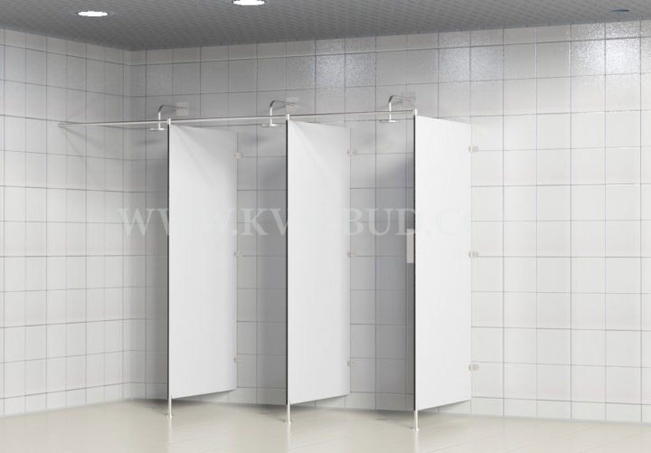 HPL shower partitions