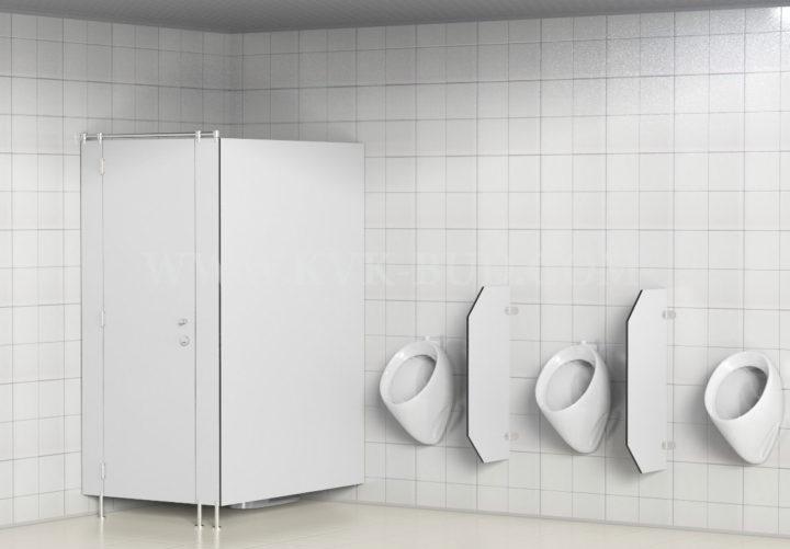 HPL urinal dividers